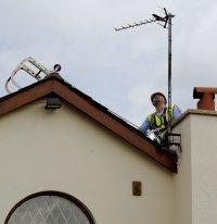 Digital TV aerial installation