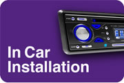 car stereo installation, sat nav installation nationwide